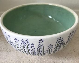 Lavender fields bowl