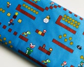 Super Mario Game Scenes Nintendo Cotton Woven Fabric by the yard sewing quilting