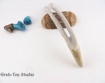 Hair Fork, Hairforks, Hairfork Antler Curvy Wishbone Hair Fork Grahtoe Handmade,Gifts for her,Man Bun, Hair Stick, Hairsticks,