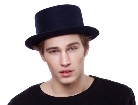 Pork Pie Hat Fall Fashion Men's Accessories Felt Boater Hat Canotiers Hat Bolero Hat Trilby Hat 1940s Hat Dress Hat 1980s Men's Hat