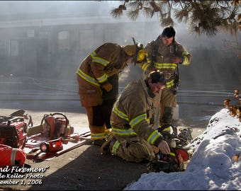 THE FIREMEN, DEQ Bend, Oregon, Clyde Keller 2006 photo