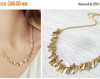 On Sale 40% off, Nina Necklace in Gold