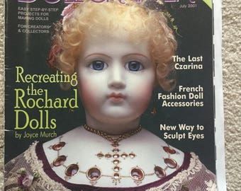 Doll Crafter magazine; July 2001 issue