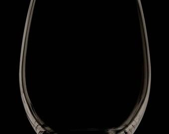Stemless 13 Ounce Wine Glass