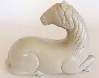 Austin Productions Sculpture Horse, Vintage Animal Decor