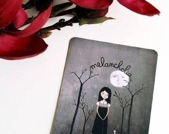 30% Off - Summer SALE 30 Percent Off - Summer SALE Melancholia - Postcard