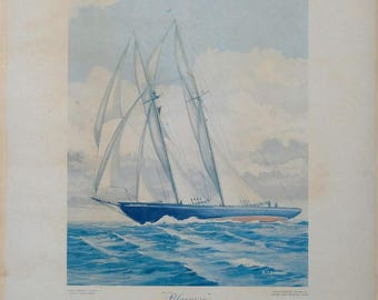 Vintage Poster of the Bluenose