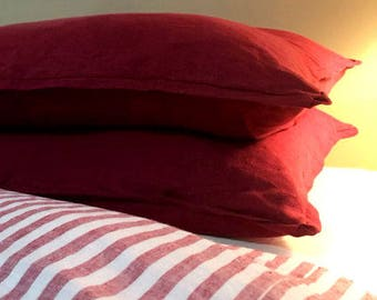 CHIC...BED PILLOW..1 sham.. with trim