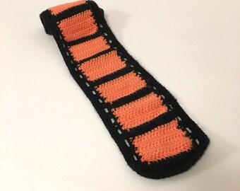 Crocheted Film Geek Scarf (Kids)