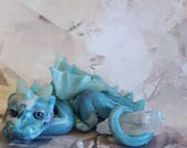 Stormy Blue Dragon, one-of-a-kind