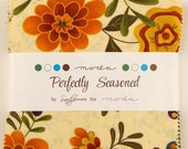 SALE Perfectly Seasoned Charm Pack Fabric - Moda - Sandy Gervais