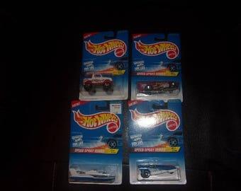 Mattel Hot Wheels..Speed Spray Series.. 1996