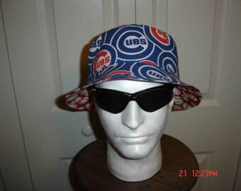 Cubs Reversible Bucket Hat