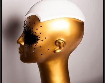 Extra Long Fascinator Hat Base White... Base For Headdress Hat Millinery Foam DIY