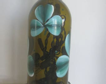Shamrocks,,, Shamrocks,,,, On An Amber Lighted Bottle