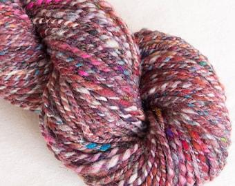 Hand spun yarn, Art yarn, Textured yarn, Knitting, Crochet, Dreadlocks, Weaving, Tapestry, Embellishment, fibre art
