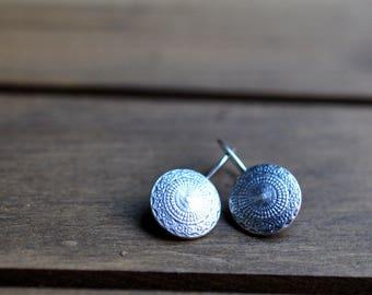 Sterling Silver Earrings, Sterling Silver Cast Earrings, Ornate Dangly Earrings - Antalya Earrings