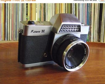SALE 25% OFF 1960's Kowa H Slr 35mm Camera with Half Case