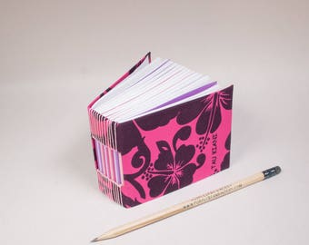 Bitty Mini Blank Book with a Page for Every Day of the Year in Polynesian Pink