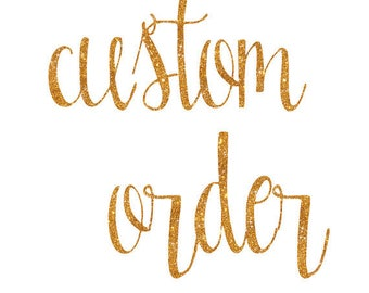 Custom listing for Fallon Gaskamp
