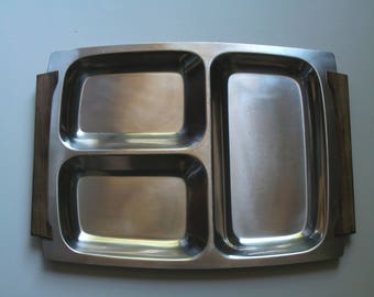 Lundtofte Stainless Steel Serving Tray Denmark