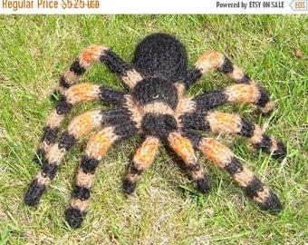 40% OFF SALE Instant Digital File pdf download My Pet Tarantula Toy Spider pdf download knitting pattern