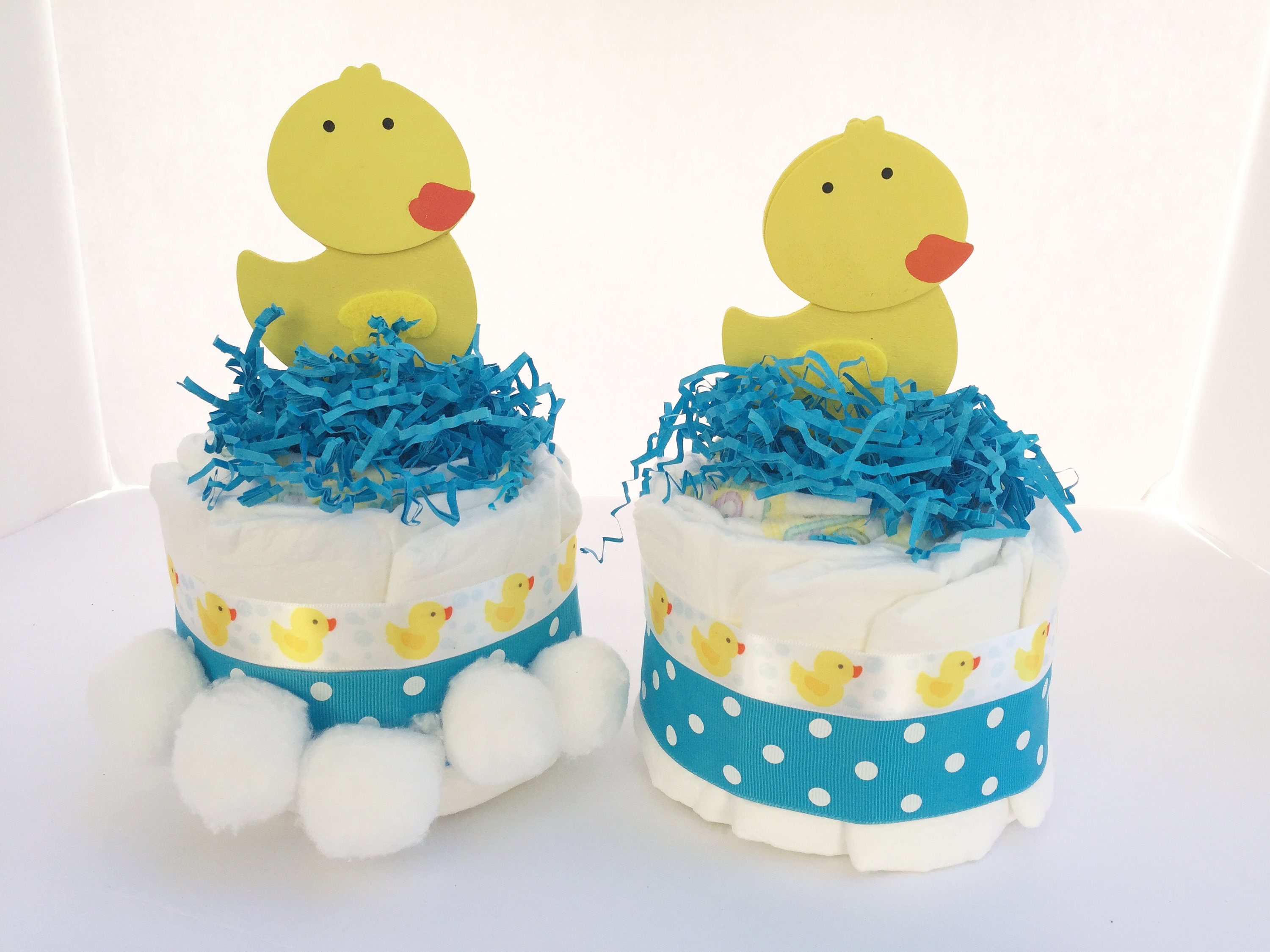 Newborn Baby Gifts, Duck Diaper Cake Centerpieces, Rubber Duck Theme Baby  Shower Decorations, Duck Table Centerpieces For Baby Showers