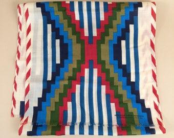 vintage 1988 southwestern SMITHSONIAN INSTITUTION scarf