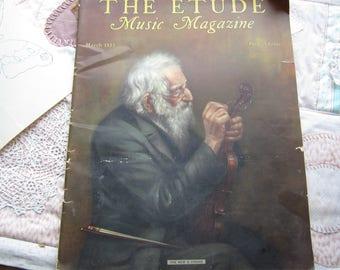 The Etude Music Magazine. March 1933,