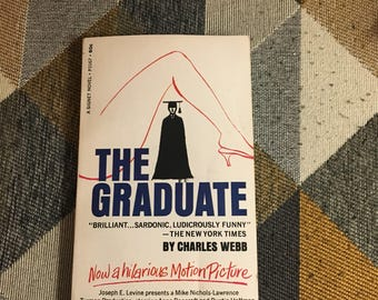 Vintage 1963 The Graduate Webb Book Signet