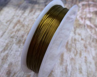 free uk postage Copper Beading Wire Antique Bronze 0.6mm