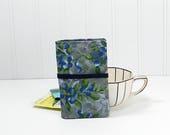 Blueberry Tea wallet - teabag caddie - 4 pockets