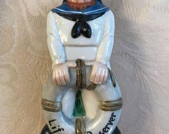 1940's German nautical sailor flask