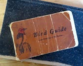 Vintage bird book Bird Guide Part 2 Land Birds East of the Rockies Chester A Reed Worcester Mass 1906 Pocket field guide Color Illustrations