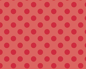 Red Tone on Tone Medium Dot by Riley Blake Designs