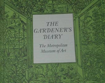 1980 Unused Gardeners Diary- Metropolitan Museum of Art