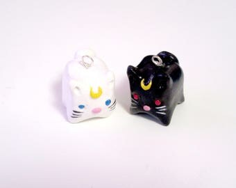 Sailor Moon: Artemis and Luna Charms