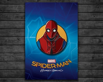 Spider-man Homecoming: Homemade Suit Enamel Pin