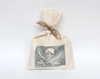 PIRATE Party Bags - pirates, pirate party favour bags, pirate loot bags, skull and cross bones, pirate party, pirates theme, pirate favours