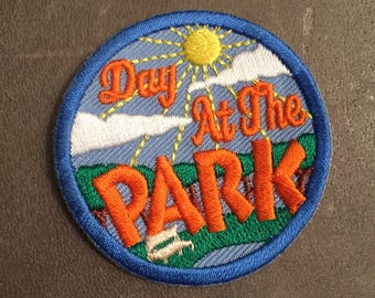 Day at the Park Merit Badge Patch