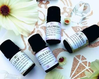Female Balance Essential Oil Blend. Geranium, Rose, Clary Sage, Lavender. 5 ML