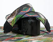 Camera Strap, Jivara,  Fits dSLR or SLR Camera, Pocket, Camera Neck Strap, Nikon or Canon camera strap, Universal Replacement  309