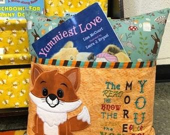 Animal Reading Pillows : Reading pillow Etsy