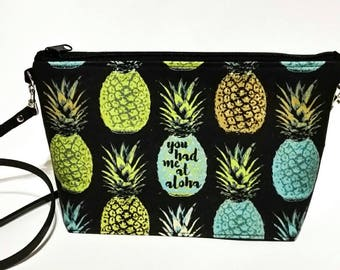 You Had Me At Aloha crossbody bag
