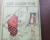 Billy Bunny Book 1920, vintage story book