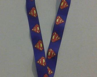 Superman Lanyard Badge, ID holder 248652