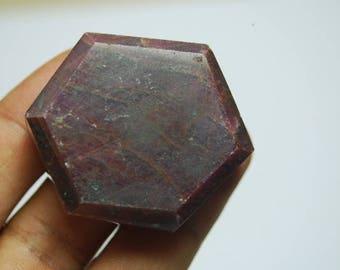 Corundum shape ruby energy stone