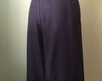 1930's 30's wide leg denim pants W 26.5-27.5  H 39.5  SALE