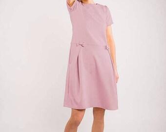 SALE - LeMuse dusty rose SUMMER MADMUAZEL dress