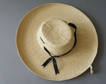 Cowgirl trimmed hat | 1950's by cubevintage